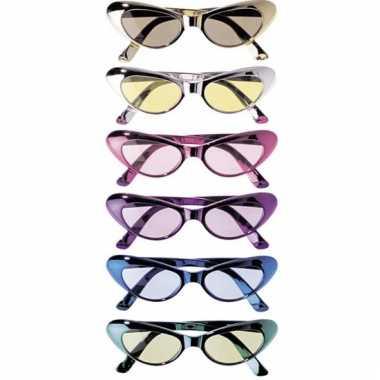 Ovale glimmende brillen
