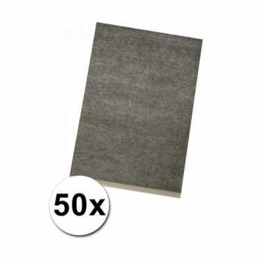 Overtrek papier a-4 50 stuks