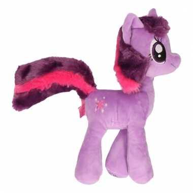 Paarden knuffel my little pony paars