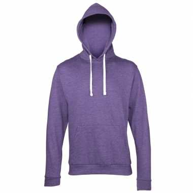 Paarse kleding sweaters capuchon