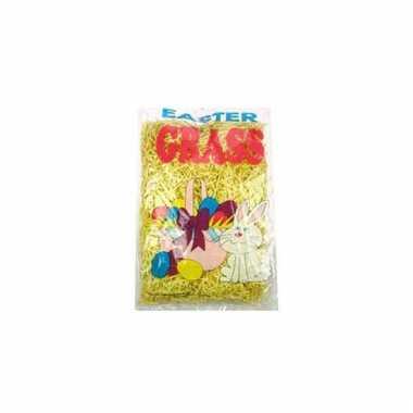 Paasversiering geel gras 40 gr