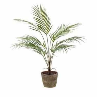 Palmboom nep 70 cm groen in pot