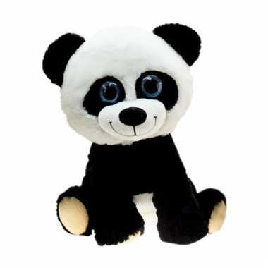 Pandabeer knuffel groot 80 cm