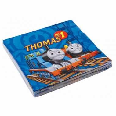 Papieren servetten thomas de trein