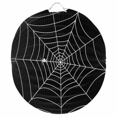 Papieren spinnenweb lampion 22 cm