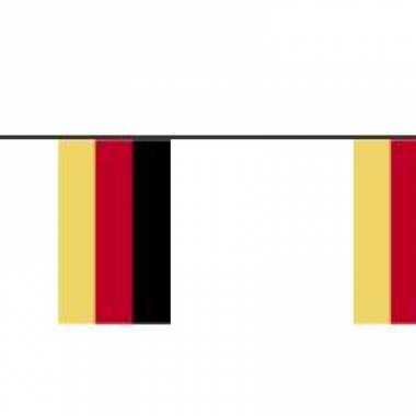 Papieren vlaggenlijnen duitsland