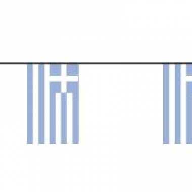 Papieren vlaggenlijnen griekenland