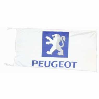 Peugeot merchandise vlaggen 150 x 75 cm