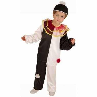 Pierrot clown kostuum voor kinderen