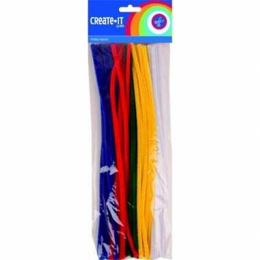 Pijpenragers diverse kleuren 30 cm 50 st