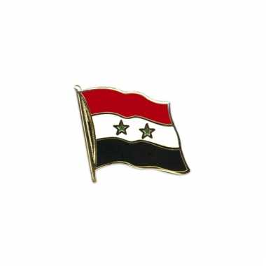 Pin speld vlag syrie 20 mm