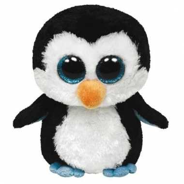 Pinguin knuffel waddles 42 cm