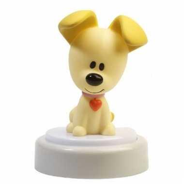 Pip hondje led nachtlampje 14 cm
