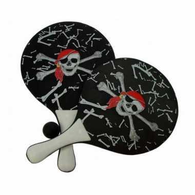 Piraten beachball set met balletje