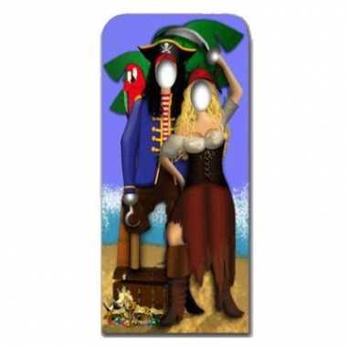 Piraten koppel fotobord