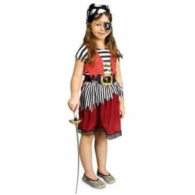 Piraten rokje met riem voor meisjes