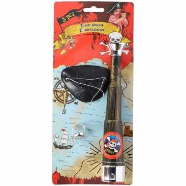 Piraten speelgoed 3-delig