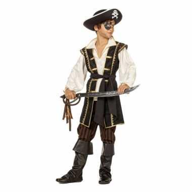 Pirates of the caribbean bruin kostuum voor jongens