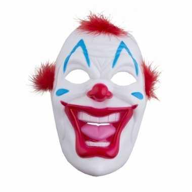 Plastic clown maskers