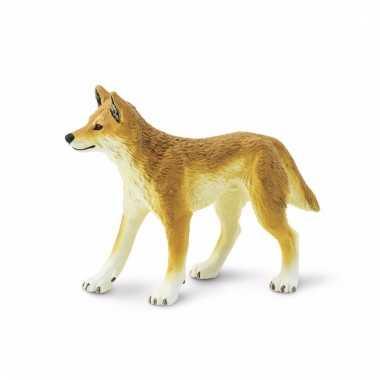 Plastic dieren dingo wild hondje 10 cm