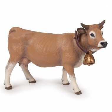Plastic dieren duitse allgau koeien 14 cm