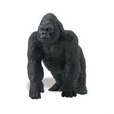 Plastic dieren gorilla aapje 11 cm