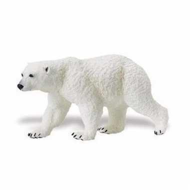 Plastic dieren ijsbeertje 12 cm