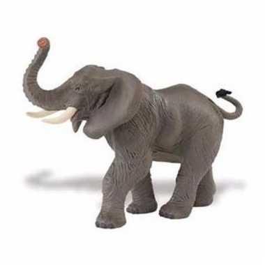 Plastic dieren olifant 16 cm
