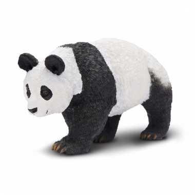 Plastic dieren panda 9 cm