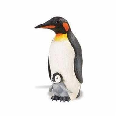 Plastic dieren pinguintje11 cm