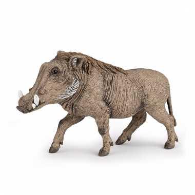 Plastic dieren zwijn 10 cm