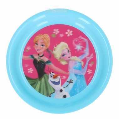 Plastic lunchbordje frozen voor meisjes