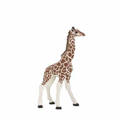 Plastic papo dier baby giraffe 9 cm