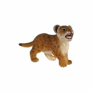 Plastic papo dier leeuwen welpje