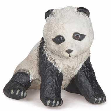 Plastic papo dier panda baby