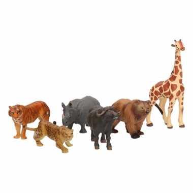 Plastic papo safari dieren 6,5 cm
