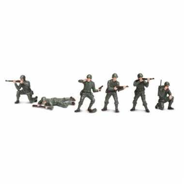 Plastic soldaatjes 6 stuks