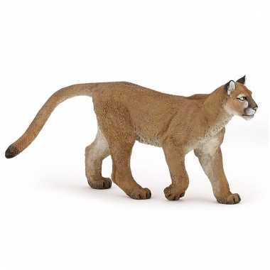 Plastic wilde katten poema 11,5 cm