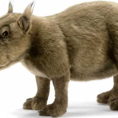 Pluche capibara knuffeldier 33 cm