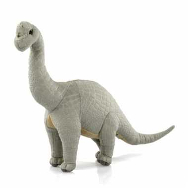 Pluche dinosaurus brontosaurus 36 cm