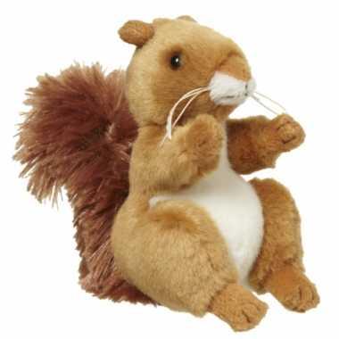 Pluche eekhoorntje 11 cm