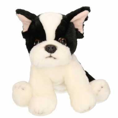 Pluche franse bulldog 24 cm