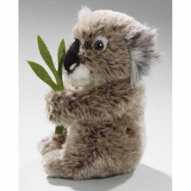 Pluche grijze koala knuffel 17 cm