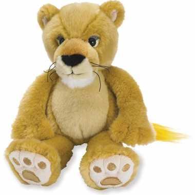 Pluche kleine leeuw