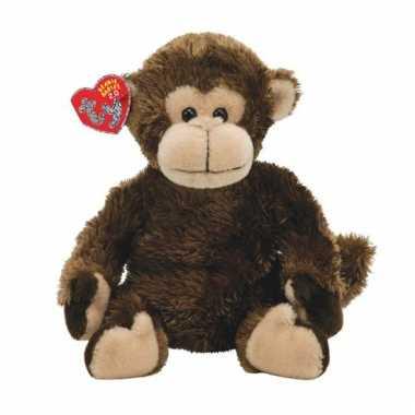 Pluche knuffel aapje 15 cm