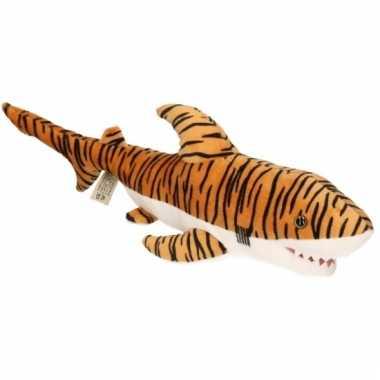 Pluche knuffeldier tijgerhaai 43 cm