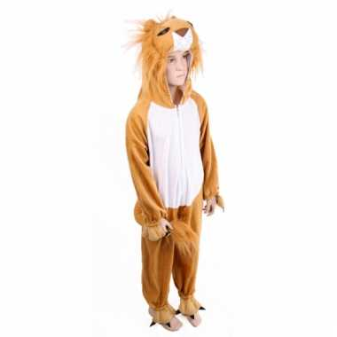 Pluche leeuw kostuum voor kids