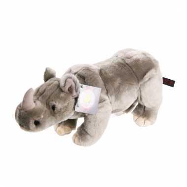 Pluche neushoorns 36 cm