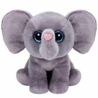 Pluche olifant knuffels whopper ty beanie 24 cm