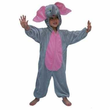 Pluche olifanten kinder kostuum